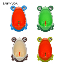 Cute Ergonomic Frog Children Baby Potty Toilet Trainers Urinals Boy Hook Kids Potty Training Portable Toilet Windmill 0-6years