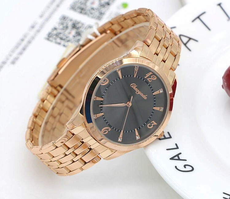New Arrival Brand Men Watches Men's Waterproof Casual Quartz Watch Diamonds Hour Stainless Steel Sports Wrist Watch Male Relogio ybotti luxury brand men stainless steel gold watch men s quartz clock man sports fashion dress wrist watches relogio masculino