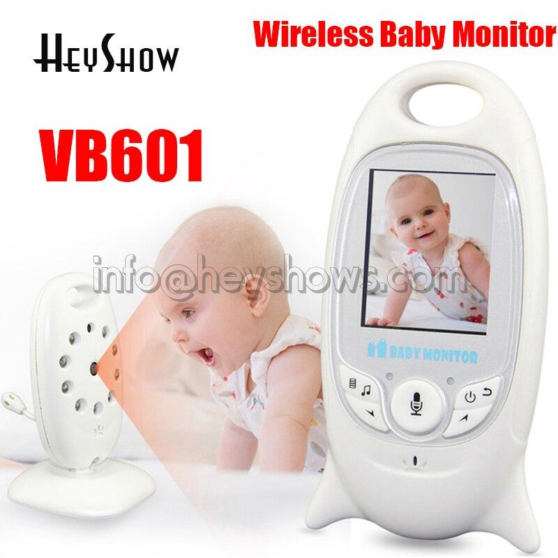 VB601 sans fil 2.4G numérique vidéo bébé moniteur LCD bidirectionnel Audio parler affichage de la température Vision nocturne musique caméra surveillance