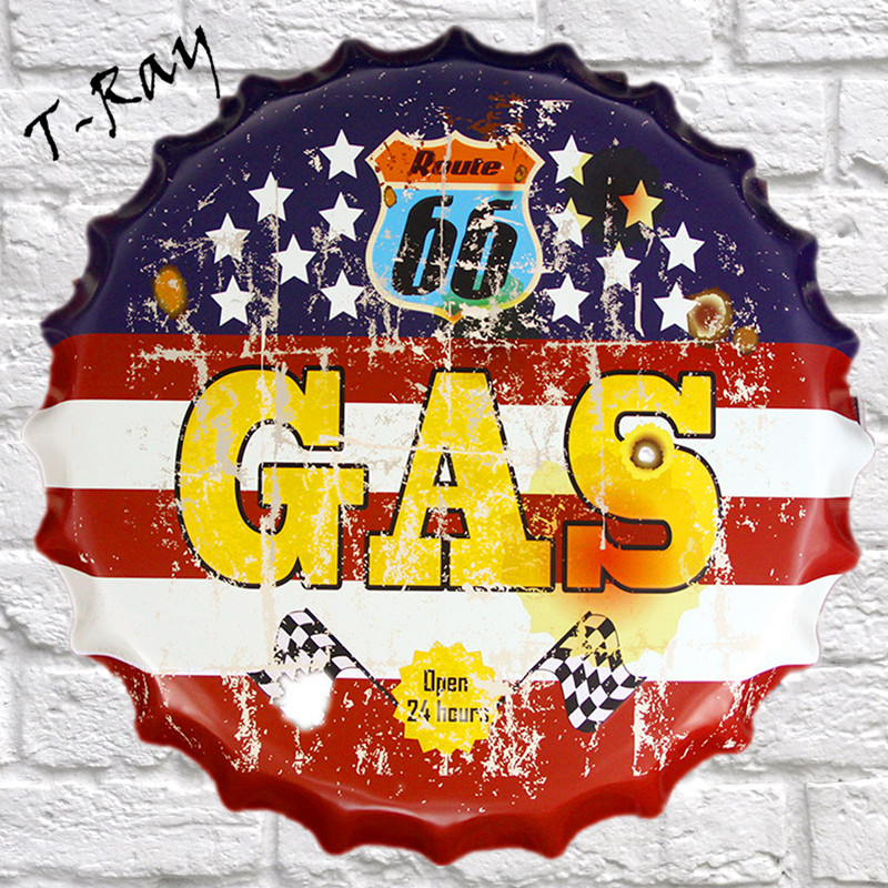 Outstanding Route 66 Wall Decor Pattern - Wall Art Design ...