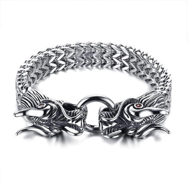 Metallic Men's Naga Silver...