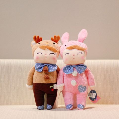 Cute Metoo Angela Rabbit Dolls Cartoon Animal Design Stuffed Babies Plush Doll for Kids Birthday Christmas Gift Children Toy Lahore