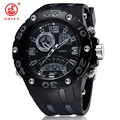 Waterproof Sports Digital Watches For Men S Shockproof Man Sport Watch Led Electronic Wristwatch OHSEN AS14
