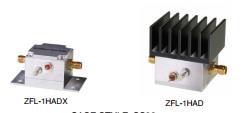 [BELLA] Mini-Circuits ZFL-1000VH2+ FRE.: 10-1000MHz RF Low Noise Amplifier