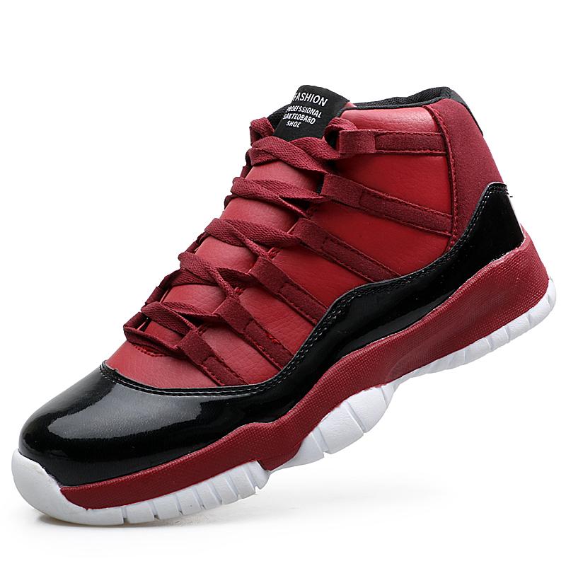 Tenis Jordan Rojos De Bota
