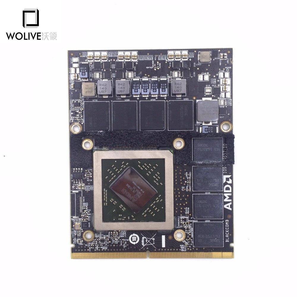 100% работает хорошо видео Графическая карта VGA Для iMac 27 A1312 HD6970 HD6970m 2 г 2 ГБ AMD Radeon 661-5969 109-C29657-10 GPU