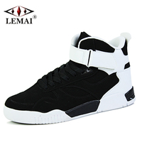 LEMAI Classic Men Skateboarding Shoes Brand Autumn Winter Keep Warm Outdoor Sport Athletic Boys Sneakers Rubber