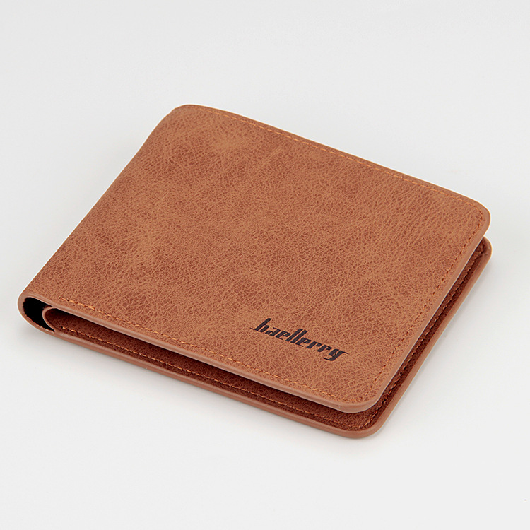 Baellerry 17 men wallets mens wallet small money purses Wallets New Design Dollar Price Male Wallet Purse with zipper Coin Bag 5
