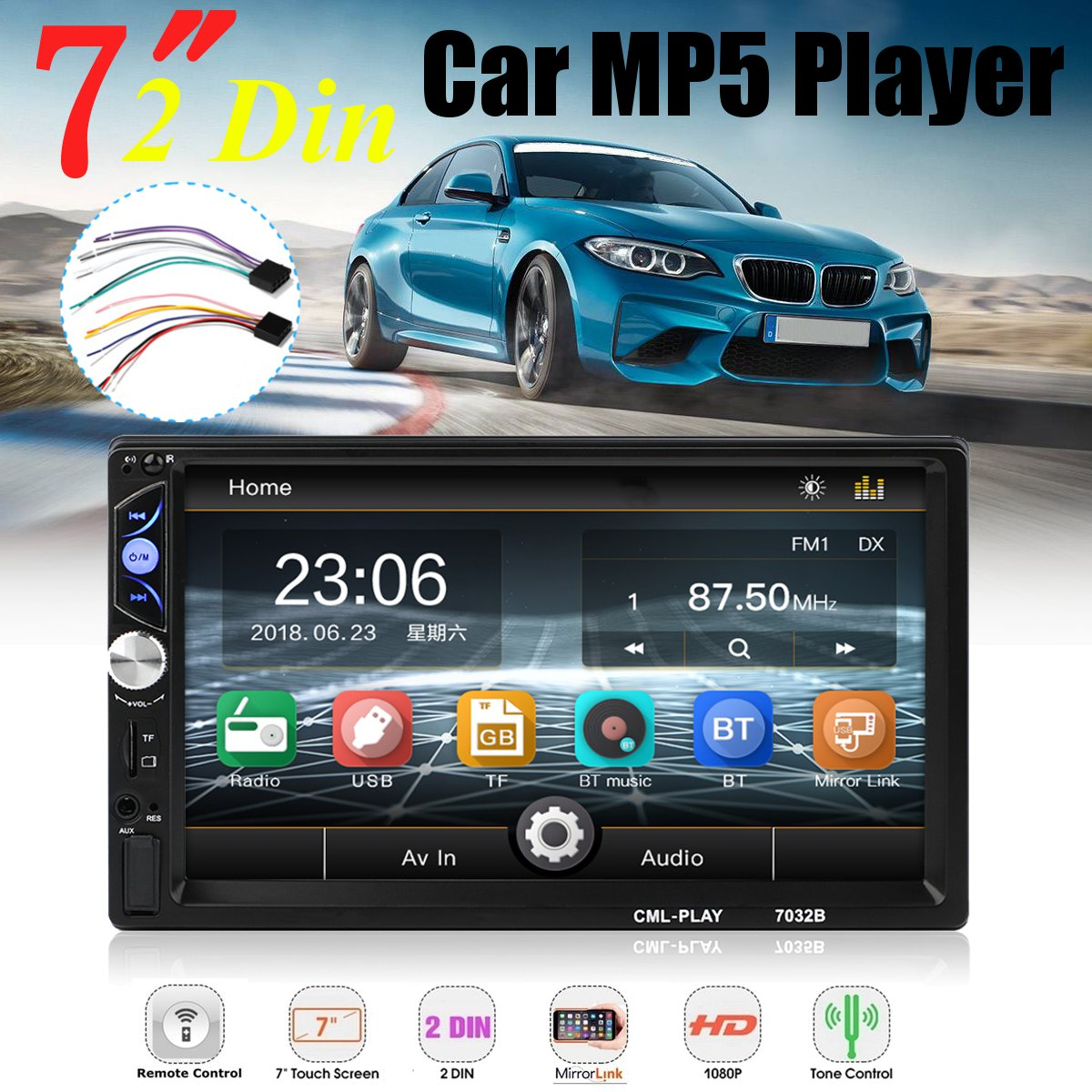 for Android Car Multimedia Player Autoradio 2din Stereo 7 For Touch Screen Video TF USB FM MP5 Player Auto Radio Car Multimediafor Android Car Multimedia Player Autoradio 2din Stereo 7 For Touch Screen Video TF USB FM MP5 Player Auto Radio Car Multimedia