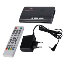 L'UE HDMI HD 1080 P Avec VGA/Sans VGA Version DVB-T2 TV boîte AV CVBS Tuner Récepteur Télécommande Compatible Avec Le CRT et LCD
