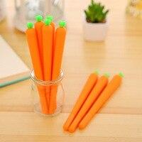 40 PCs Lot 0 38mm Carrot Pen New Hot Cute Creative Gel Pen Carrot Style Gel