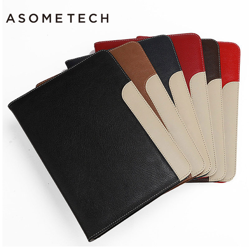 Luxury PU Leather Business Case For Ipad 2 3 4 Flip Smart Magnetic Sleep Wake/Up Holder Case For Ipad Mini 1 2 3 4 Tab Cover