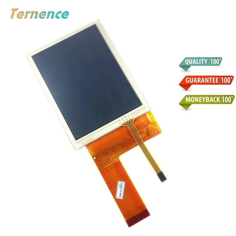 Skylarpu 3.8 ''pouces LCD complet pour Trimble TSC2 plein écran LCD panneau d'affichage avec écran tactile lentille numériseur complet