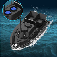 PDDHKK 500m Remote Control Distance RCFishingBaitBoat Fast Speed Fishing Finder Boat Double Warehouse and Night Vision Light