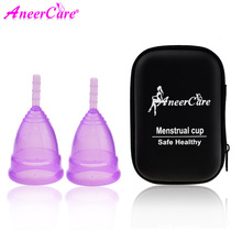US $3.69 26% OFF|2pcs menstrual collector menstrual cup medical silicone copas menstruales silicona medical grade silicone lady period cup -in Feminine Hygiene Product from Beauty & Health on Aliexpress.com | Alibaba Group