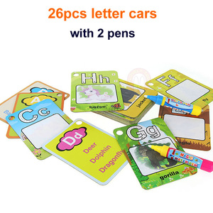 Image 3 - Magic Drawing Book Water Coloring Toys Clipboard Painting Doodle Creation Board With Pens Kids Craft  Educational Child Game