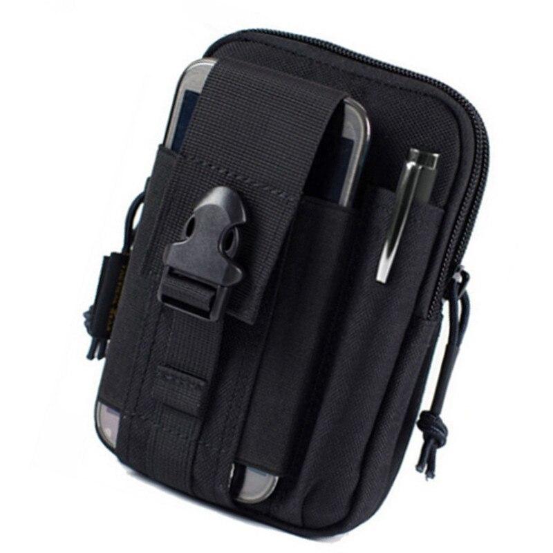 Μίνι Molle Μέση Πακέτο Μέση Αθλητικά Τσάντες Airsoft Θήκη Θήκη Θήκη Phone για Iphone 6 Plus Σημείωση 2 3 4 CORDURA Fabric