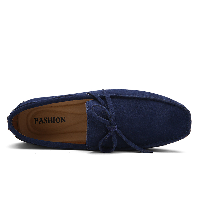 38 red Marque En Mocassins Blue Mode yellow Cuir 2018 navy Nouvelle Blue gray Wine orange Green Pinsv Taille Chaussures dark 49 Appartements Casual Royal brown Hommes c8q7Fwvn1