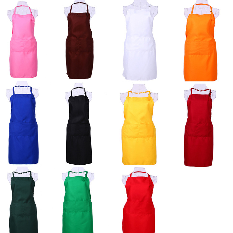 White Kitchen Apron popular white cooking apron-buy cheap white cooking apron lots