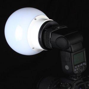 Image 3 - Coque de diffuseur de lumière à billes souples SUPON pour flash flash flash pour boîte de conserve