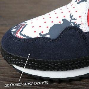 Image 5 - Vrouwen winter laarzen Lady warme schoenen sneeuw boot 30% natuurlijke wol binnenzool koe suède teen plus size 35 41 kerst Herten gratis verzending