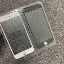 10 шт. 4 в 1 для iPhone 5/6/6 Plus/6S/6S Plus/7/7 Plus/8/8 Plus передний стеклянный сенсорный экран + рамка холодного отжима рамка + OCA + поляризатор