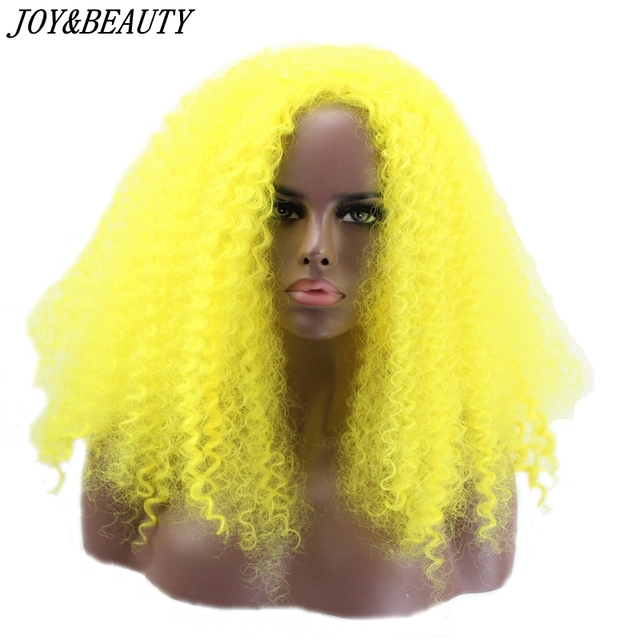 US $15.99 |JOY&BEAUTY Yellow Color fro Kinky