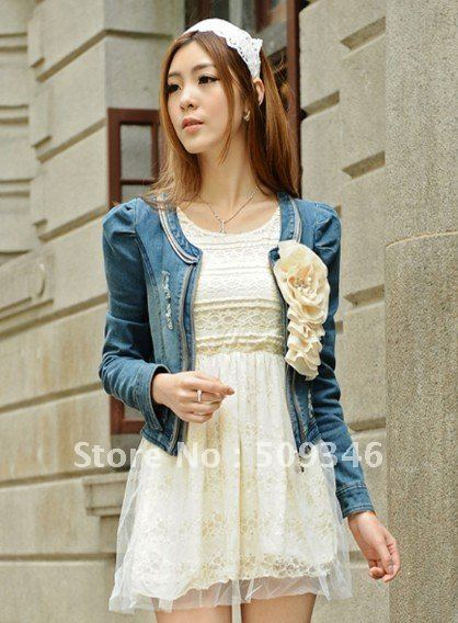 Fashion Women Ladies Spring Autumn Casual Denim Jeans Short Tops