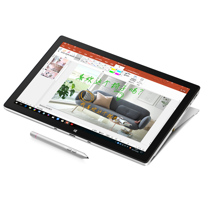 2in1 Tablet PC VOYO VBOOK I7 Plus with IPS <font><b>Touchscreen</b></font> Core i7 7500U 4M Cache 16G RAM 512G SSD 5G Wifi <font><b>Laptop</b></font> license <font><b>windows</b></font> 10 image