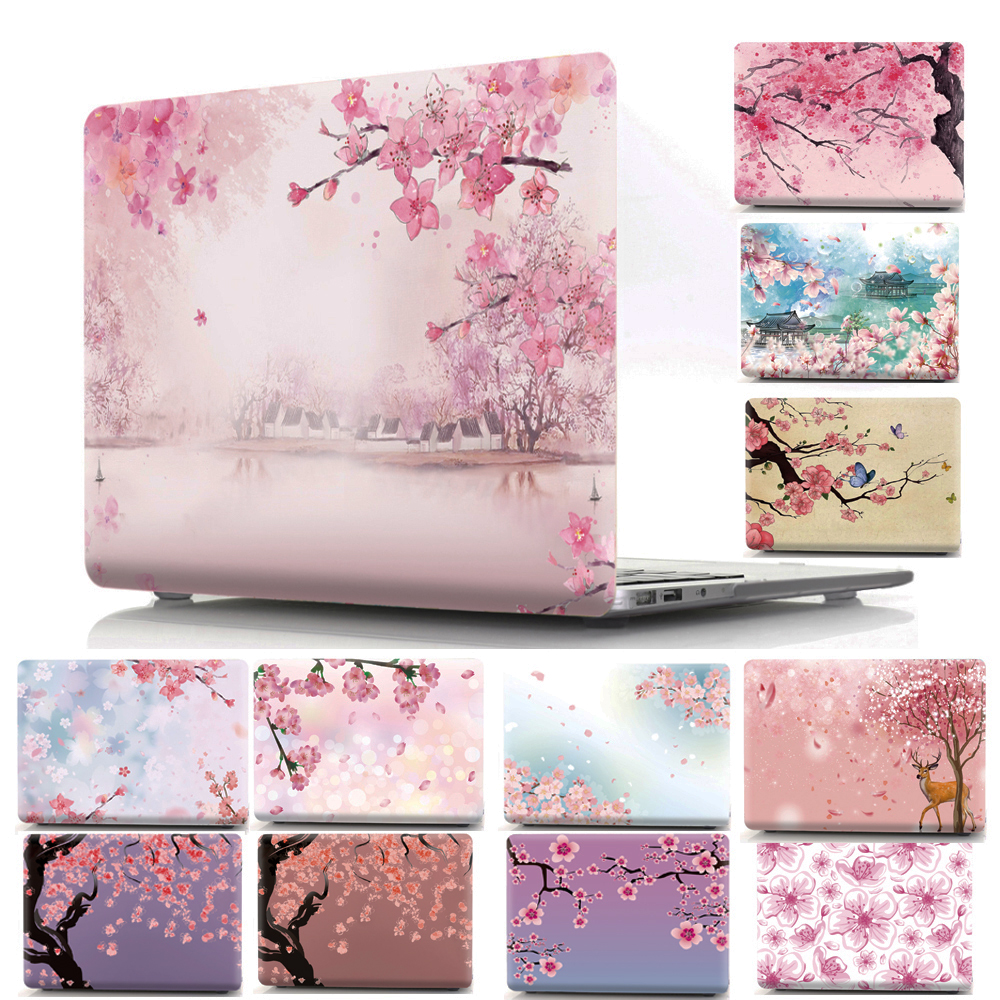 все цены на Sakura Printed Case Cover for Apple MacBook Air 11 13 Pro Retina 12 13 15 Protective Shell for Mac 11.6 12 13.3 15.4 Fashion Bag онлайн