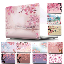 High Quality WOOD GRAIN PU Leather Laptop Cases for apple MacBook Air 11 13 MAC Pro Retina 12 13.3 inch + keyboard cover