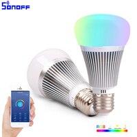 Sonoff B1 Wifi Thông Minh Lamp Dimmable E27 Đèn LED RGB Màu Light Hẹn Giờ Bulb Từ Xa Bật/OFF Qua IOS Android Tự Động Hóa Nhà