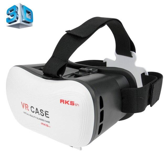 Виртуальная реальность гарнитуры VR КОРОБКА 3D Очки vr гарнитура Для iPhone 6 Плюс 4.0 дюймов-5.5 дюймов Смартфон VRBOX 3D Видео очки
