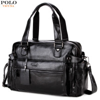 VICUNA POLO Leather Men S Travel Bag Popular Design Duffle Bag High Quality Luggage Handbag Large