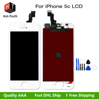 E Trust 1pcs AAA Quality No Dead Pixel With 3D Touch Display For Iphone 5c Lcd