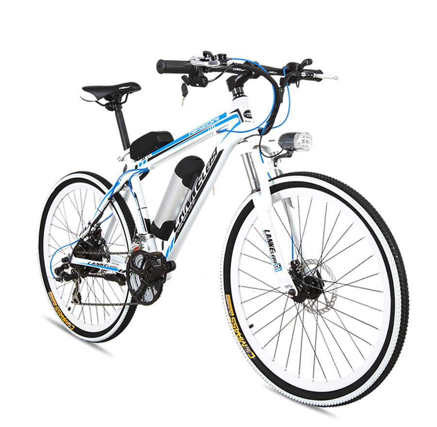 Smart Electric Bicycle Bike 2 Wheels Electric Bicycle Adult Mountain Bike 26 Inch 36V/48V 240W Portable Electric Scooter