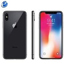 Apple iphone X Face ID, 5,8 дюймов, шестиядерный процессор iOS A11, 3 Гб ОЗУ, 64 ГБ/256 Гб ПЗУ, 12 МП, двойная задняя камера, 4G LTE, разблокировка iphone x