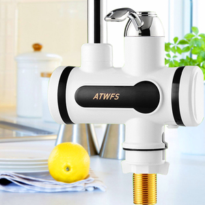 Image 3 - ATWFS anlık haznesiz su ısıtıcı musluk anlık musluk mutfak su ısıtıcı vinç anında sıcak su musluk dijital ab tak