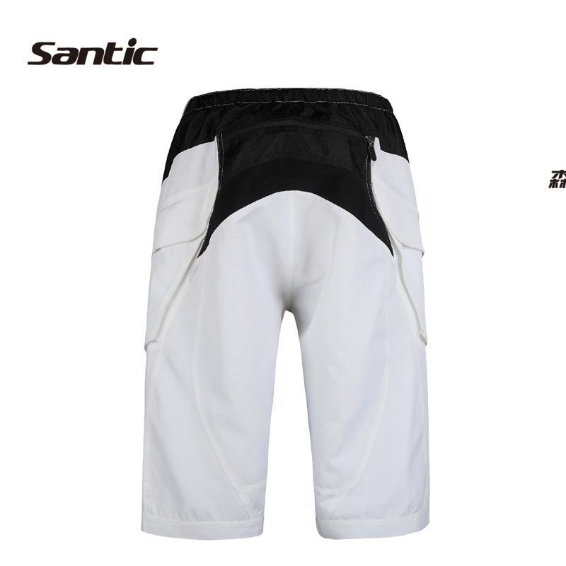Santic шорты, летние велосипедные шорты для мужчин, лучшее качество, велосипедные шорты, базовые велосипедные шорты для велоспорта, спортивные... - 4