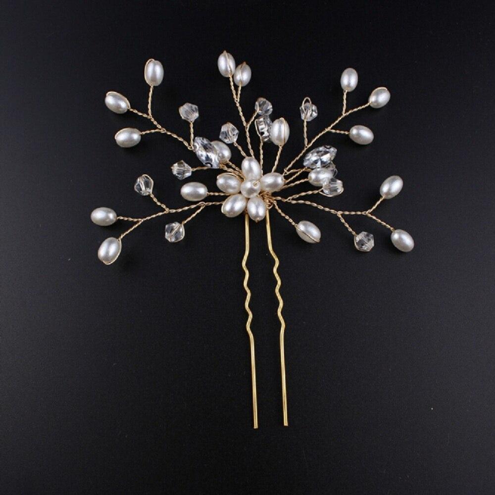 Pearl Hairpins Hairstyles Wedding Bridal Hair Pins Hair Jewelry Accessories Hairwear Girls Hair Clips For Women Dropshipping