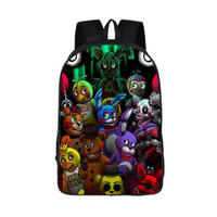 Five Nights At Freddy Backpack Women Men FNAF School Bags Teenager Kids Bagpack Five Nights At