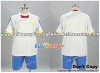 Inazuma Eleven Cosplay Japan Team Uniform White Version H008