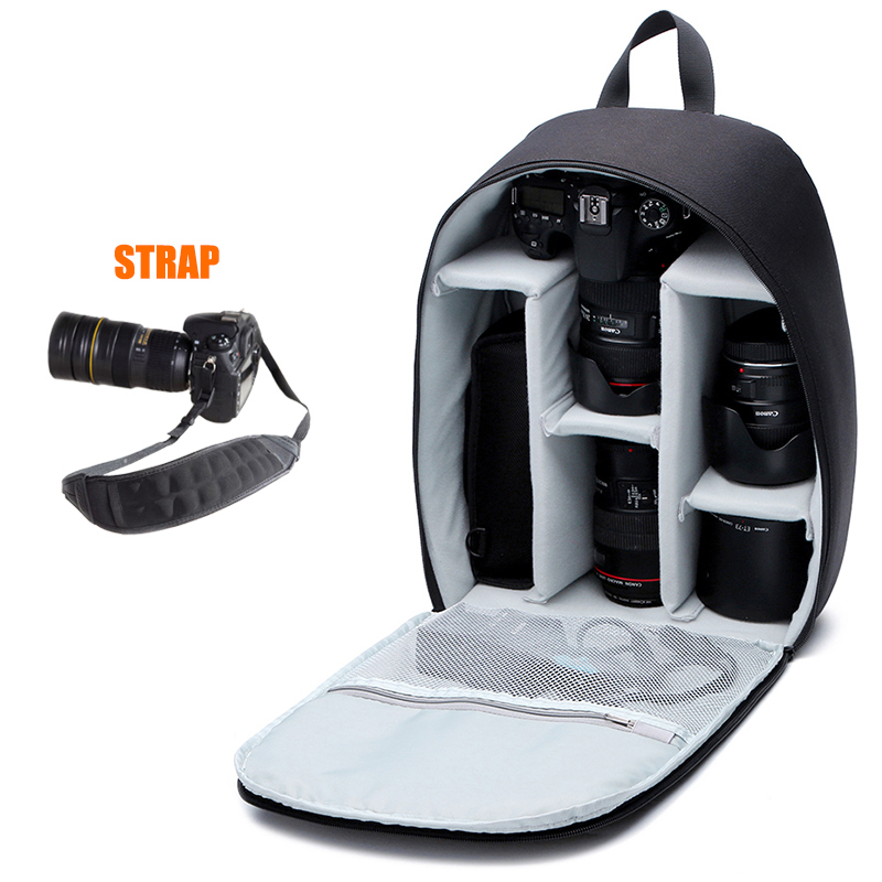 CADeN DSLR Camera Backpacks Bag Video Photo Digital Bags Water-resistant Polyester Case For Dslr Canon Nikon Sony Camera Case D6