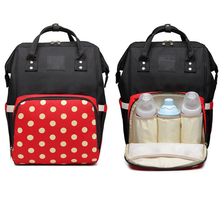 Hot Selling Fashion Mummy Maternity Nappy Bag Large Capacity Baby Diaper Bag Travel Backpack Nursing Bag For Baby Care