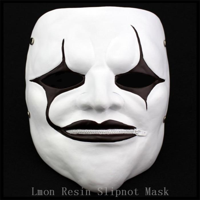 100% Resin Slipknot Mask Joey Slipknot-Masks Collection Home Decor Mascaras Halloween Terror Cosplay Ghost Scream Scary Masks