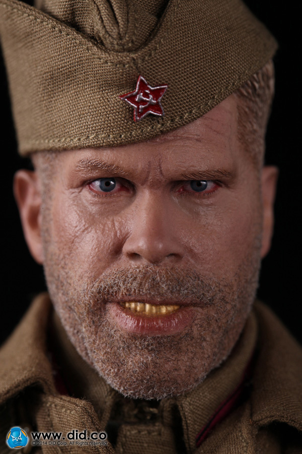 DID R80102 1/6 Enemy at the Gates Soviet sniper Big gold teeth Koulikov Two headsculpts12inch Male doll Soldier Finished Product at the gates at the gates at war with reality 180 gr