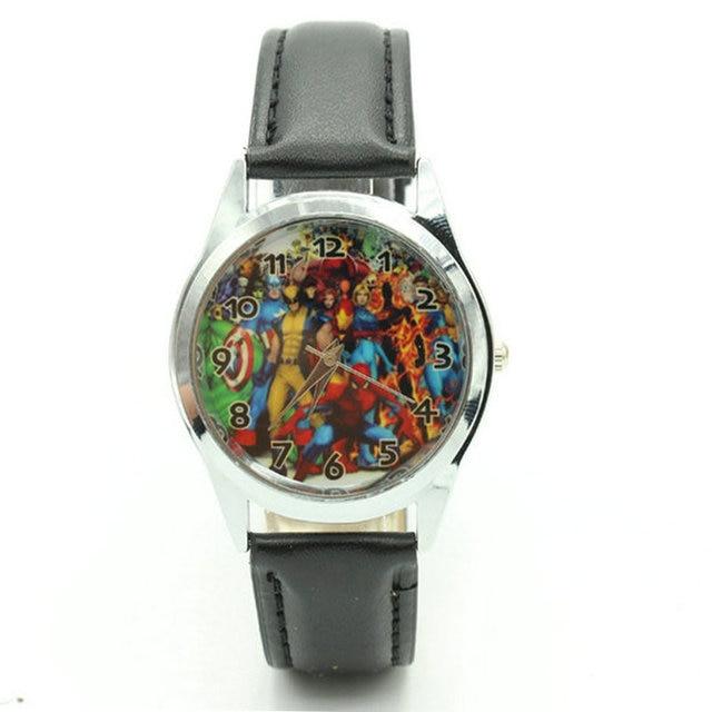 Free Shipping 2017 Marvel Fashion The avengers alliance Watch Wrist Child gift w