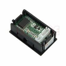 Digital Voltmeter Ammeter DC 100V 100A Dual LED Amp Volt Meter Shunt Voltage Tester Tools digital voltage current power energy meter voltmeter ammeter volt ampere dc 6 5 100v 50a with dc 50a 75mv shunt