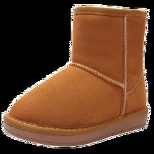 Мальчиков Сапоги и ботинки Обувь зима дети снег Сапоги и ботинки воловьей кожи для маленьких Сапоги и ботинки Водонепроницаемый теплые с хлопковой подкладкой для девочек Сапоги и ботинки