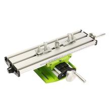 مصغرة الدقة متعددة الوظائف آلة طحن مقعد الحفر ملزمة تركيبات قابل للتعديل المنضدة X Y محور تعديل تنسيق